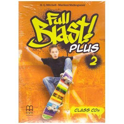 Full Blast! Plus 2 Class CDs ( Editura: MM Publications, Autori: H. Q. Mitchell, Marileni Malkogianni ISBN 9786180522846)