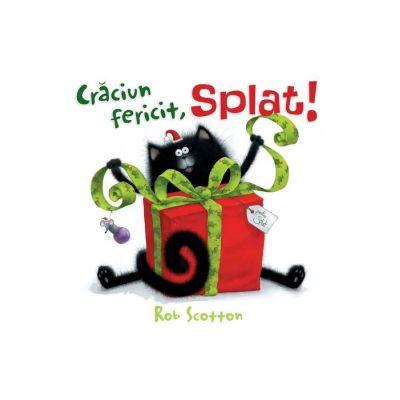 Craciun fericit, Splat! ( Editura: Art Grup editorial, Autor: Rob Scotton ISBN 978-606-788-272-8)