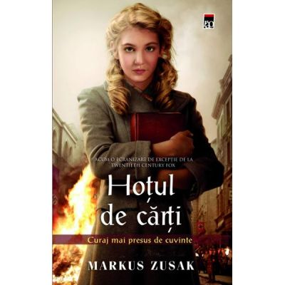 Hotul de carti ( Editura: Rao, Autor: Markus Zusak ISBN 9786066096133 )