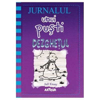 Jurnalul unui pusti vol 13. Dezghetul ( Editura: Arthur, Autor: Jeff Kinney, ISBN 978-606-788-476-0 )