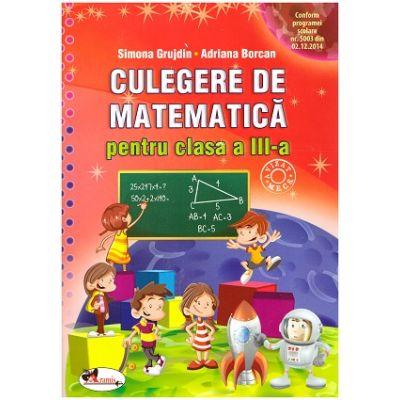 culegere matematica clasa 5 pdf