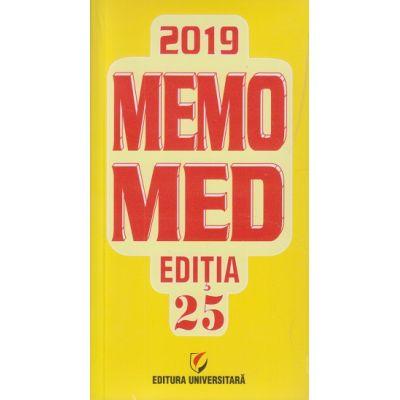Memomed 2019/ Editia 25(Editura: Universitara ISSN 20692447)
