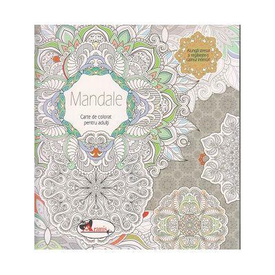 Mandale. Carte de colorat pentru adulti ( Editura: Aramis, ISBN 9786067064018 )
