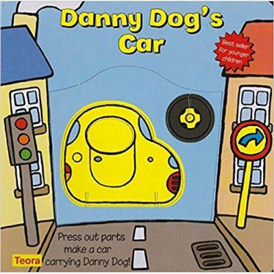 Danny Dog's Car: Press Out Parts Make a Car Carrying Danny Dog! ( Editura: Outlet - carte limba engleza, Autor: Teora USA ISBN 1-85576-423-7 )