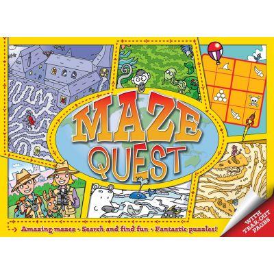 Maze Quest ( Editura: Outlet - carte limba engleza, Autor: Andy Peters ISBN 9781848583696 )