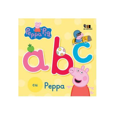 Peppa Pig: ABC cu Peppa ( Editura: Art Grup editorial, ISBN 978-606-788-295-7 )