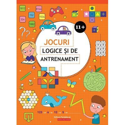 Jocuri logice si de antrenament 11+ ( Editura: Paralela 45, Autor: Ballon Media ISBN 9789734729388 )