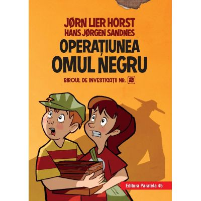 Biroul de investigatii nr 2. Operatiunea Omul Negru ( Editura: Paralela 45, Autori: Horst Jørn Lier, Sandnes Hans Jørgen ISBN 978-973-47-2910-4 )