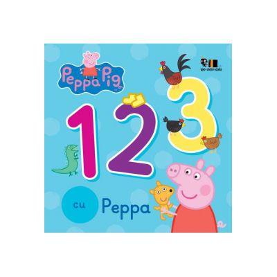 Peppa Pig: 1, 2, 3 cu Peppa ( Editura: Art Grup editorial, ISBN 978-606-788-290-2 )