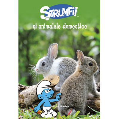 Strumfii si animalele domestice (Editura: Nomina, ISBN 9786065357877)