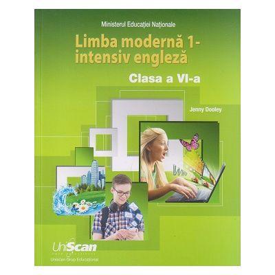 Limba moderna 1 - Intensiv Engleza clasa a 6 a ( Editura: Express Publishing, Autor: Jenny Dooley ISBN 9781471582950)