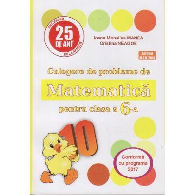 Culegere de probleme de Matematica pentru clasa a 6-a ( Puisor ) ( Editura: As. Unicum, Autor(i): Ioana Monalisa Manea, Cristina Neagoe ISBN 978-973-7619-85-3 )