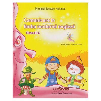 Comunicare in limba engleza clasa a II-a ( Editura: Express Publishing, Autori: Jenny Dooley, Virginia Evans ISBN 9781471585067 )