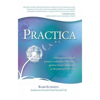 Practica. Instrumente simple pentru combaterea stresului, gasirea linistii interioare si descoperirea fericirii (Editura: Adevar Divin, Autor: Barb Schmidt ISBN 9786068420936)