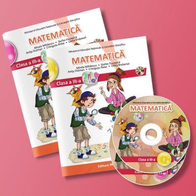 Matematica. Manual pentru clasa a III-a. Semestrul I si II. Contine editia digitala ( Editura: Intuitext, Autori: Mirela Mihaescu, Stefan Pacearca ISBN 9786068681382)