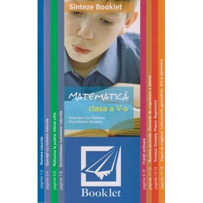 Sinteze - Matematica clasa a V-a ( Editura: Booklet, Autor: *** ISBN 978-606-590-696-9)