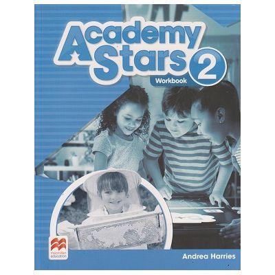Academy Stars 2 Workbook (Editura: Macmillan, Autor: Andrea Harries ISBN 9780230489929 )
