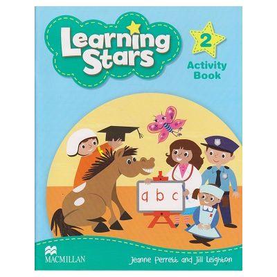 Learning Stars 2 Activity Book (Editura: Macmillan, Autor: Jeanne Perrett, Jill Leighton ISBN 9780230455795)