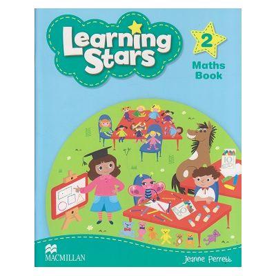 Learning Stars 2 Math Book (Editura: Macmillan, Autor: Jeanne Perrek ISBN 978-0-230-45576-4)