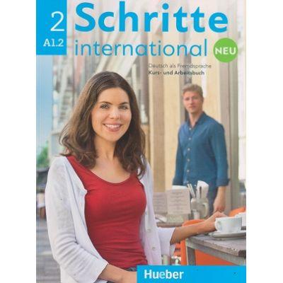 Schritte international Kurs-und Arbeitsbuch Neu Nr. 2 A1. 2 Zum CD ( Editura: Hueber, Autori: Daniela Niebisch, Sylvette Penning-Hiemstra, Franz Specht ISBN 9783196010824 )