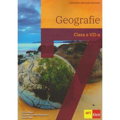 Geografie. Manual pentru clasa a VII-a(Editura: Art, Autor(i): Silviu Neguț, Carmen Camelia-Rădulescu, Ionuț Popa ISBN 9786069089088)