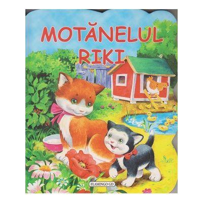 Motanelul Riki(Editura: Flamingo GD ISBN 9786067131468)