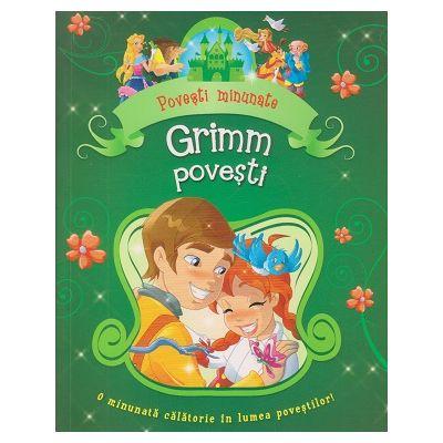 Povesti minunate/ Grimm povesti (Editura: Flamingo GD, Autor: Fratii Grimm ISBN 9786067131307)