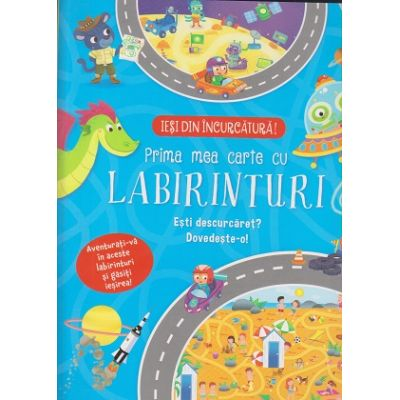 Prima mea carte cu labirinturi(Editura: Flamingo Junior ISBN 9786068555553)