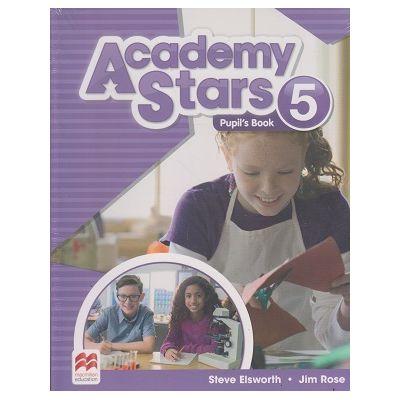 Academy Stars 5 Pupil s Book ( Editura: Macmillan, Autor(i): Steve Elsworth, Jim Rose ISBN 978-0-230-49021-5)