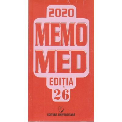 Memomed 2020 / Editia 26 (Editura: Universitara ISSN 20692447)