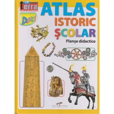 Atlas istoric scolar (Editura: CD Press, ISBN 978-606-528-356-5)