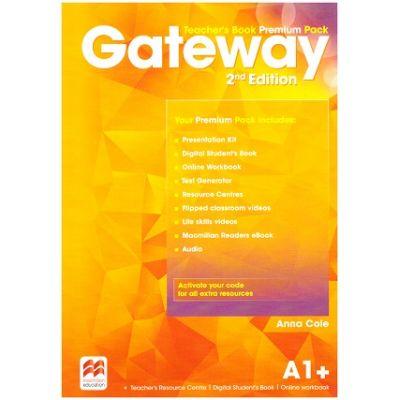Gateway Teacher's Book Premium Pack 2nd Edition A1+ ( Editura: Macmillan, Autor: Anna Cole ISBN 9780230473065)
