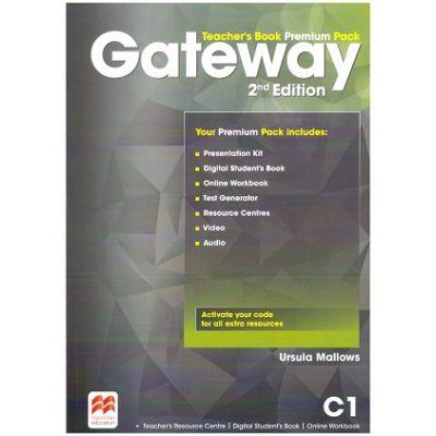Gateway Teacher's Book Premium Pack 2nd Edition C1 ( Editura: Macmillan, Autor: Ursula Mallows ISBN 9781786323118)