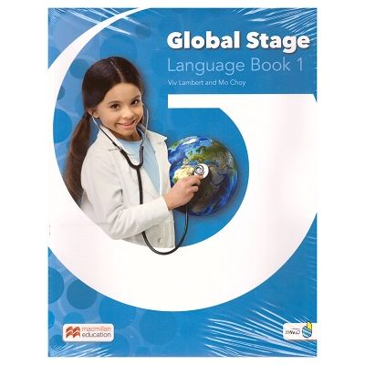 Global Stage Language Book 1/ Level 1 Student's Blended Pack ( Editura: Macmillan, Autori: Viv Lambert, Mo Choy ISBN 9781380002136)