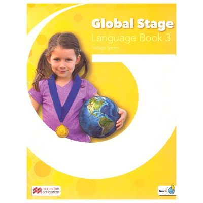 Global Stage Language Book 3 / Level 3 Student's Blended Pack ( Editura: Macmillan, Autor: Shelagh Speers ISBN 978-1-380-00235-8)