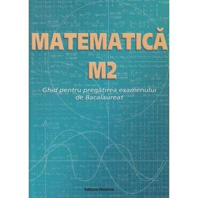 Matematica M2 Bacalaureat