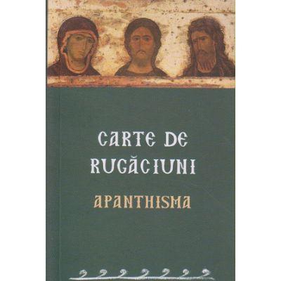Carte de rugaciuni Apathisma(Editura: Sophia ISBN 978-973-136-696-8)