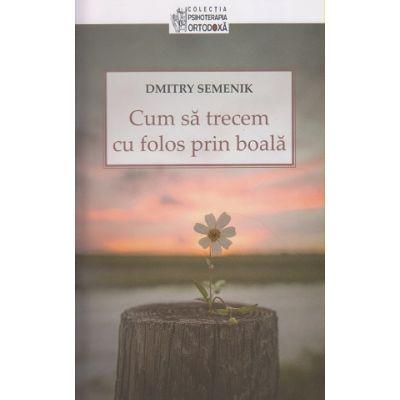 Cum sa trecem cu folos prin boala(Editura: Sophia, Autor: Dmitry Semenik ISBN 9789731366876)