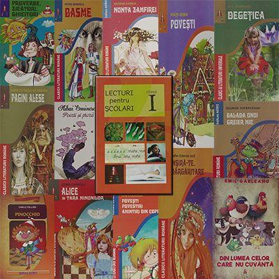 Pachet promotional pentru vacanta elevilor. CLASA I. Contine 14 carti ale Editurii Astro.