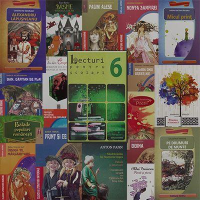 Pachet promotional pentru vacanta elevilor. CLASA a VI-a. Contine 19 carti ale Editurii Astro.