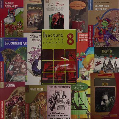 Pachet promotional pentru vacanta elevilor. CLASA a VIII-a. Contine 16 carti ale Editurii Astro.