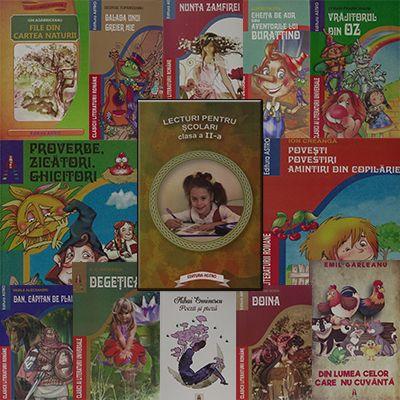 Pachet promotional pentru vacanta elevilor. CLASA a II-a. Contine 13 carti ale Editurii Astro.