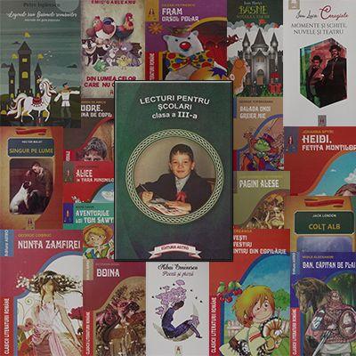 Pachet promotional pentru vacanta elevilor. CLASA a III-a. Contine 19 carti ale Editurii Astro.
