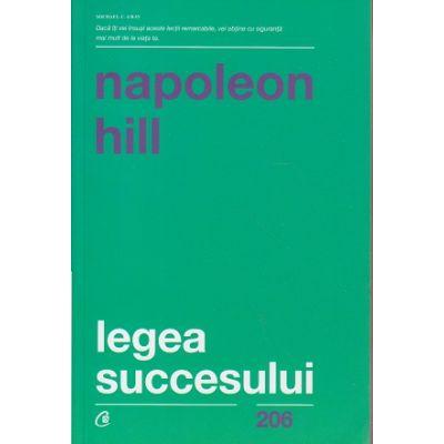 Legea succesului(Editura: Curtea Veche, Autor: Napoleon Hill ISBN 978-606-44-0555-5)