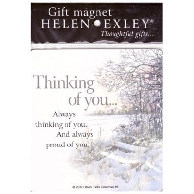 Gift magnet - Thinking of you...