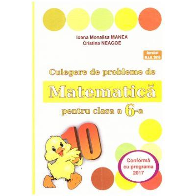 Culegere de probleme de Matematica pentru clasa a 6-a ( Puisor ) ( Editura: Logos Junior, Autor(i): Ioana Monalisa Manea, Cristina Neagoe ISBN 9789737619914 )