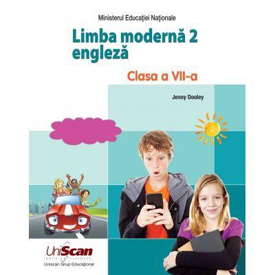 Limba moderna 2 ENGLEZA, clasa a VII-a ( Editura: Express Publishing, Autor: Jenny Dooley ISBN 9781471583070)