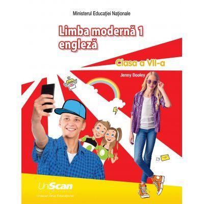 Limba moderna 1 ENGLEZA, clasa a VII-a ( Editura: Express Publishing, Autor: Jenny Dooley ISBN 9781471583193)