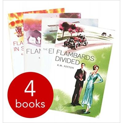Flambards - 4 Books ( Editura: Oxford university Press/Books Outlet, Autor: K. M. Peyton ISBN 9780192739322)