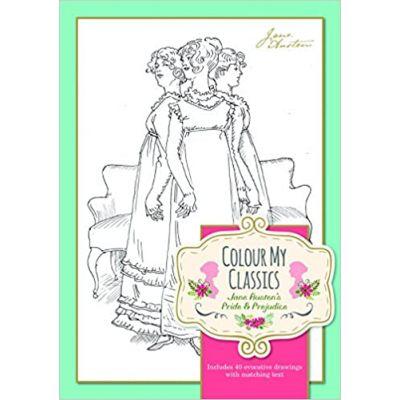 Colour My Classics - Jane Austen's Pride & Prejudice ( Editura: Worth Press/Books Outlet, Autor: Worth Press ISBN 9781849311175)